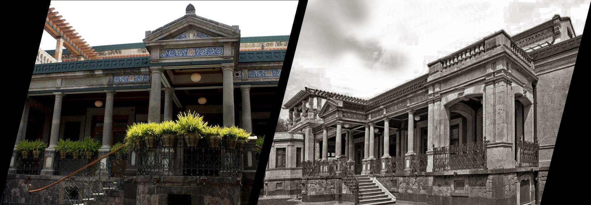 Única en su género y actualmente restaurada: Casa Rivas Mercado