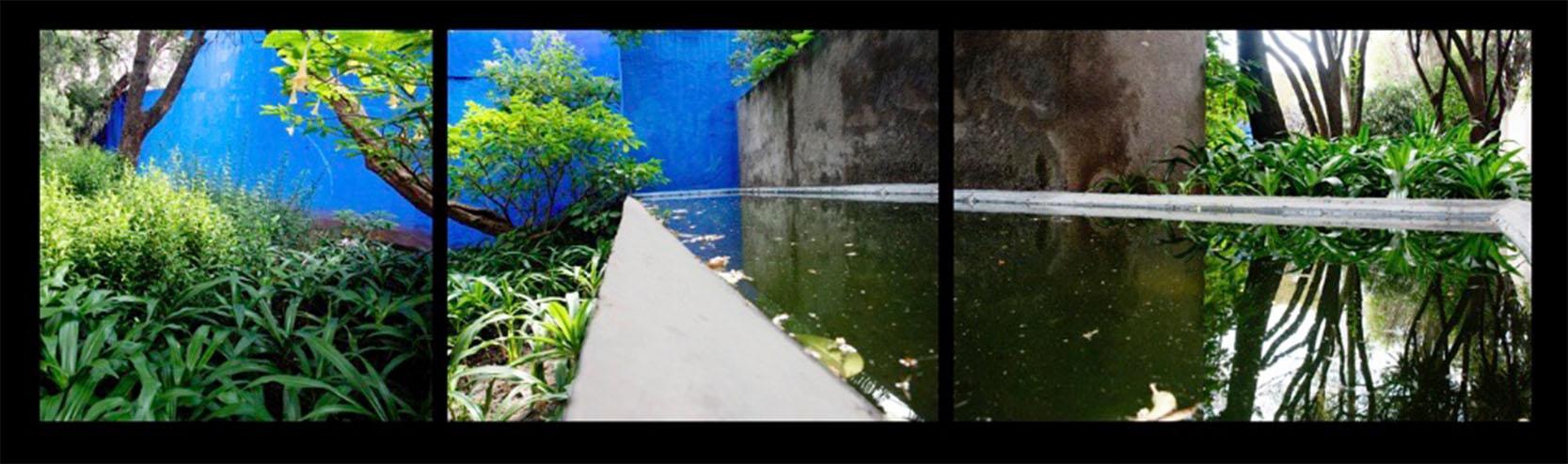 Jardín 17. La intervención de un poema en verde