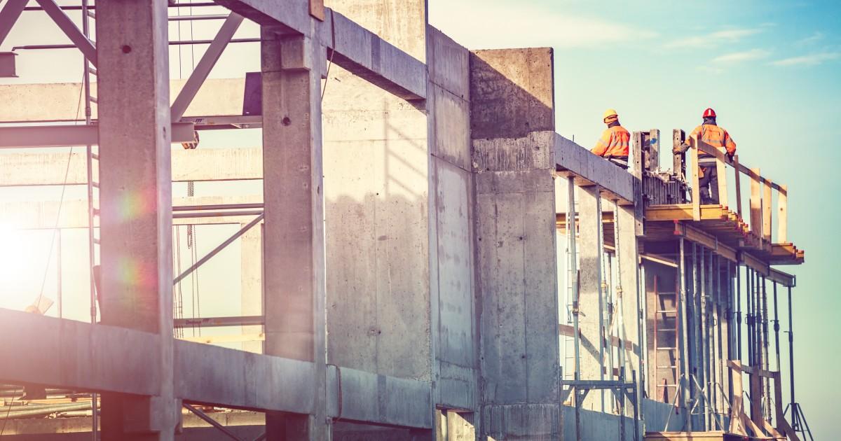 La construcción tiene una recuperación del 2.5% durante junio