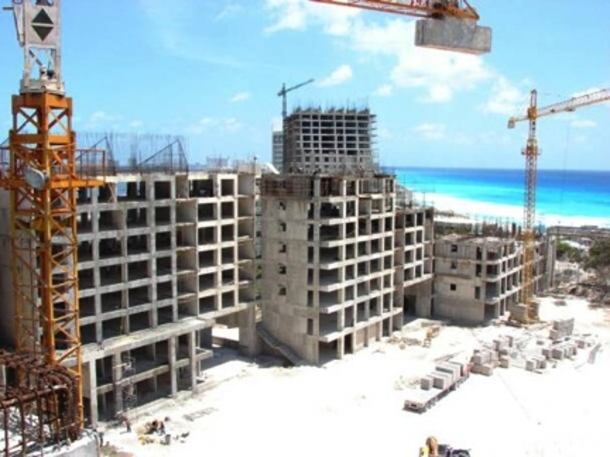 Nuevas construcciones de hoteles en Cancún