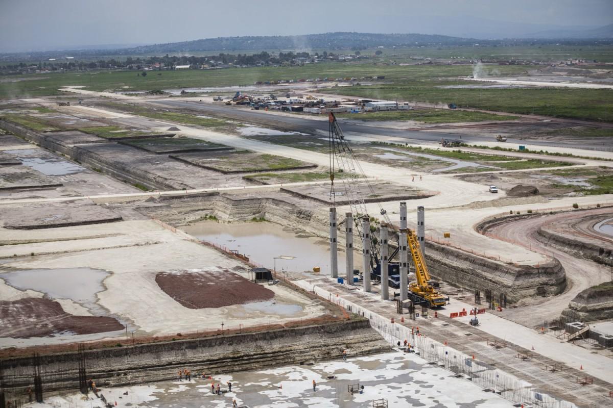 """Aeropuerto Internacional """"General Felipe Ángeles"""" casi finalizado"""
