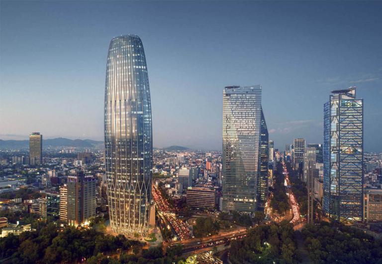 Rascacielos más grande en CDMX