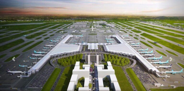 Aeropuerto de Santa Lucía tiene un 55% de avance en la construcción