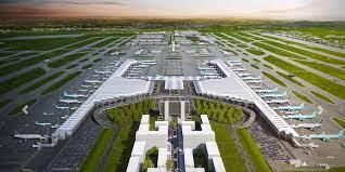 El diseño inicial del Aeropuerto Internacional Felipe Ángeles
