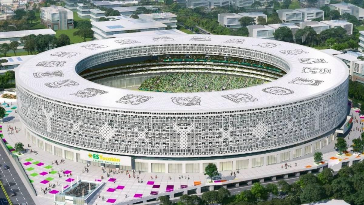 Estadio Sostenible en Yucatán